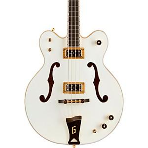 Gretsch Guitars G6136LSB White Falcon Bass Guitar by Gretsch Guitars