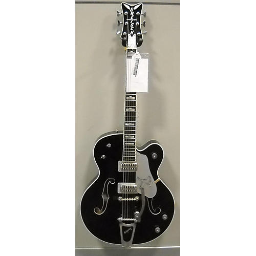 Gretsch Guitars G6136T-SL Silver Falcon Bigsby Hollow Body Electric Guitar-thumbnail