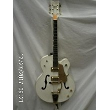 Gretsch Guitars G6136T White Falcon Bigsby Hollow Body Electric Guitar