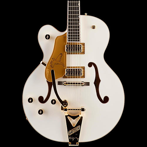 Gretsch Guitars G6136T White Falcon Left-Handed Hollowbody with Bigsby Electric Guitar-thumbnail