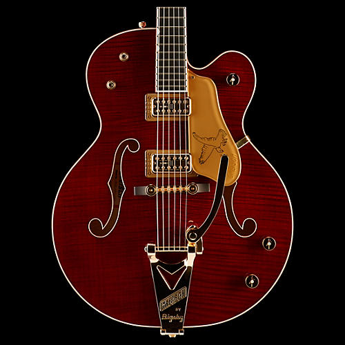 Gretsch Guitars G6136TFM-DCHY Limited Edition Falcon with Bigsby and Gold Hardware Hollowbody Electric Guitar