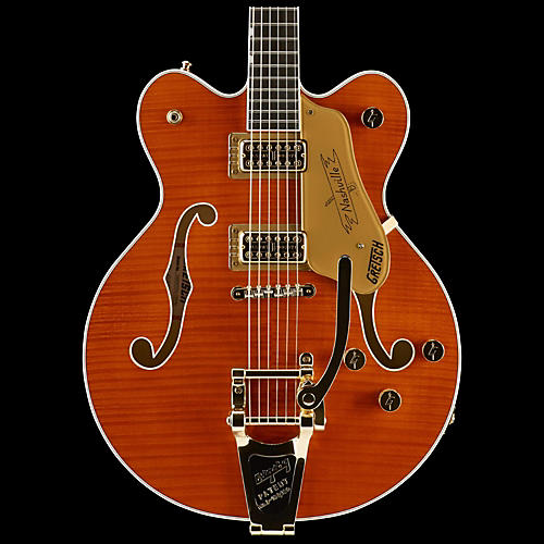 Gretsch Guitars G6620TFM Players Edition Nashville Center Block Double-Cut with String-Thru Bigsby and Flame Maple-thumbnail