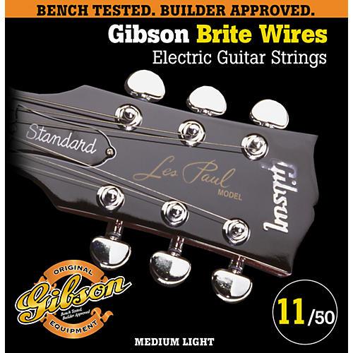 Gibson G700ML Medium Light Brite Wires Electric Guitar Strings