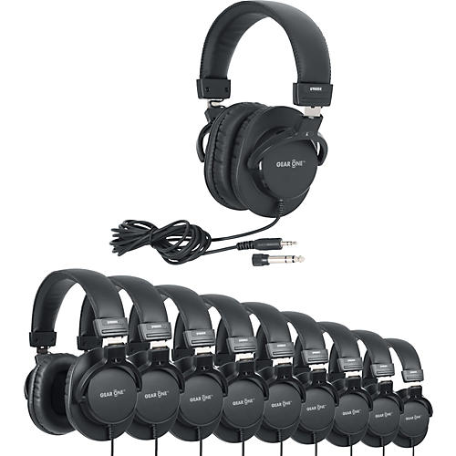 Gear One G900DX Headphone 10 Pack