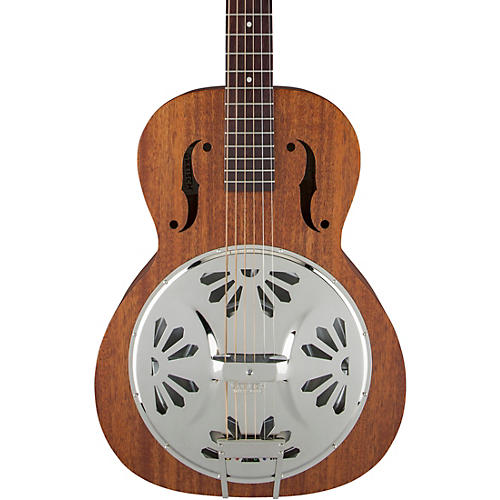 gretsch guitars g9200 boxcar round neck resonator guitar natural guitar center. Black Bedroom Furniture Sets. Home Design Ideas