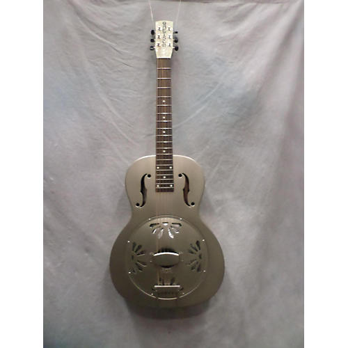 Gretsch Guitars G9201 Honeydipper Metal Round Neck Resonator Guitar-thumbnail