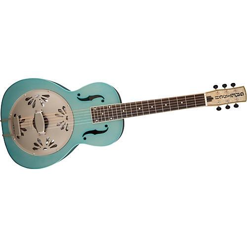 Gretsch Guitars G9212 Honey Dipper Special Square Neck Resonator Guitar Delta Blue
