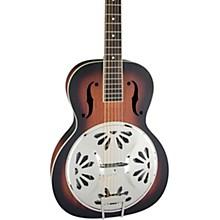 Gretsch Guitars G9220 Bobtail Round-Neck Resonator Guitar, Spider Cone