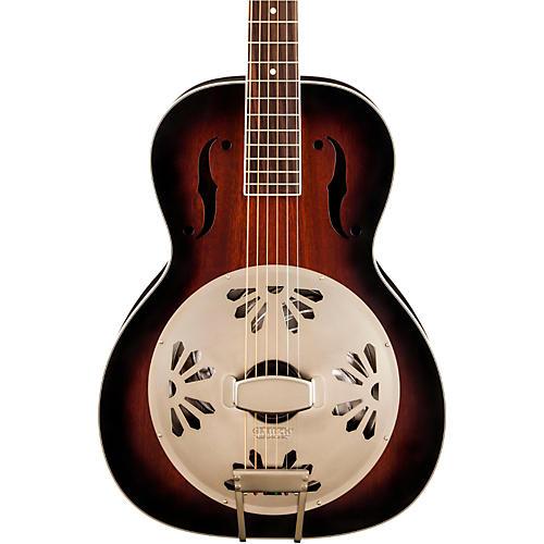 Gretsch Guitars G9240 Alligator Biscuit Round Neck Resonator 2-Color Sunburst