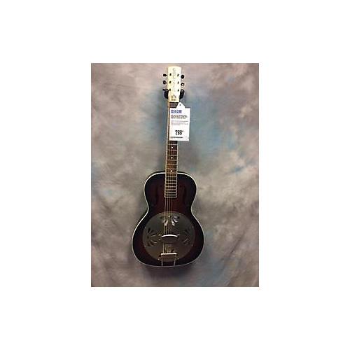 Gretsch Guitars G9240 Alligator Biscuit Round Neck Resonator Guitar-thumbnail