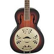 Gretsch Guitars G9241 Alligator Biscuit Round Neck Acoustic-Electric Resonator Guitar