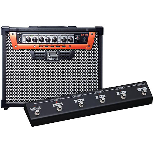 Roland GA-112 1X12 100W Guitar Combo Amplifier w/ Footswitch-thumbnail
