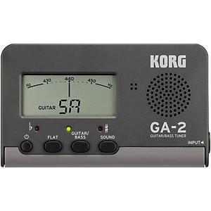 Korg GA-2 Handheld Guitar and Bass Tuner by Korg