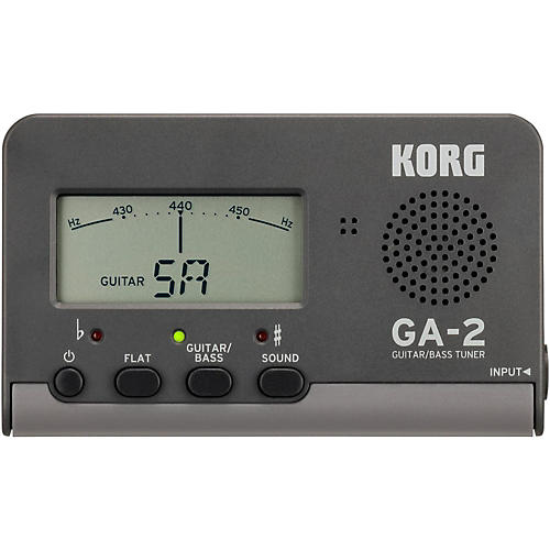 Korg GA-2 Handheld Guitar and Bass Tuner-thumbnail