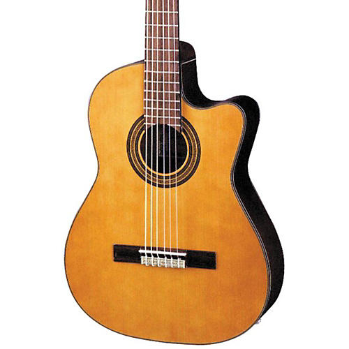 Ibanez GA Series GA6CE Classical Cutaway Acoustic-Electric Guitar Natural