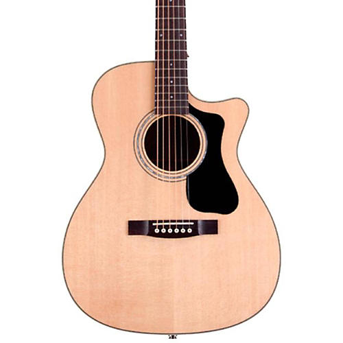 Guild GAD Series F-130CE Orchestra Acoustic-Electric Guitar-thumbnail