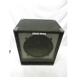 Pre-owned Genz Benz GB18B 8Ohm 1x18 Bass Cabinet by Genz Benz