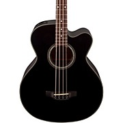 GB30CE Acoustic-Electric Bass Guitar Black