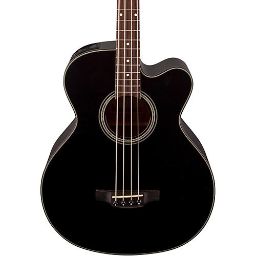 Takamine GB30CE Acoustic-Electric Bass Guitar Black-thumbnail