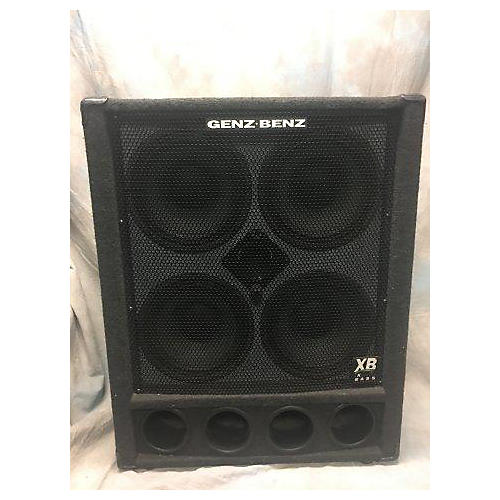 Genz Benz GB410T 4Ohm 4x10 Bass Cabinet-thumbnail