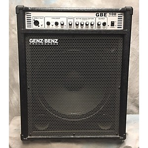 Pre-owned Genz Benz GBE 100 Bass Combo Amp by Genz Benz