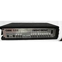 Genz Benz GBE 600 Bass Amp Head