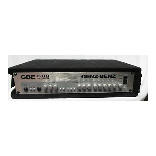 Genz Benz GBE 600 Bass Amp Head-thumbnail