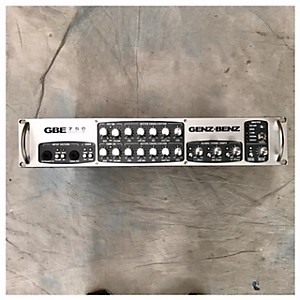 Pre-owned Genz Benz GBE 750 Tube Bass Amp Head by Genz Benz