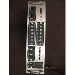 Pre-owned Genz Benz GBE1200 1200 Watt Bass Amp Head