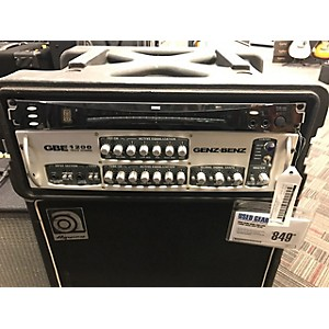 Pre-owned Genz Benz GBE1200 1200 Watt Bass Amp Head by Genz Benz