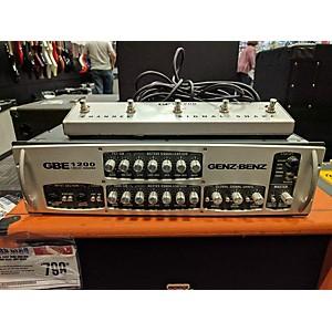 Pre-owned Genz Benz GBE1200 1200 Watt Bass Amp Head by Genz Benz