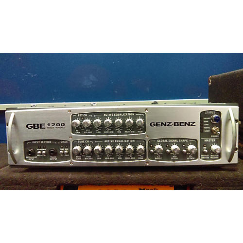 Genz Benz GBE1200 1200W Bass Amp Head-thumbnail