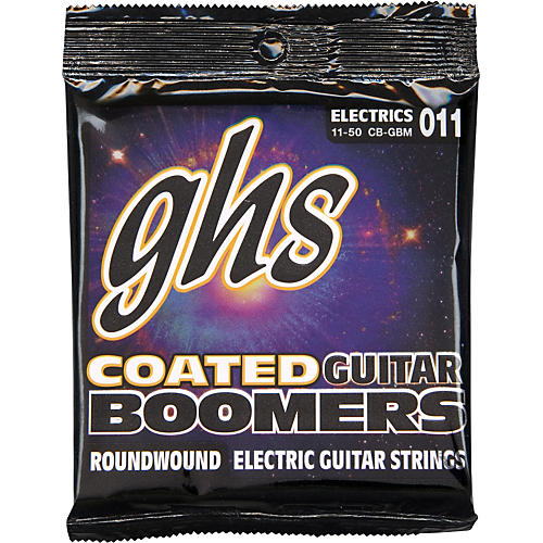 GHS GBM Coated Boomers Medium Electric Guitar Strings-thumbnail