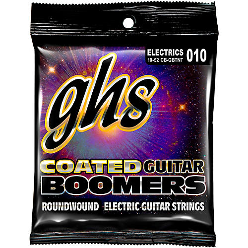 GHS GBTNT Coated Boomers Thin N Thick Electric Guitar Strings