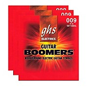 GHS GBXL Boomer 3-Pack Electric Guitar Strings