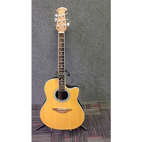 Ovation GC057M-5 Celebrity Natural Acoustic Electric Guitar-thumbnail