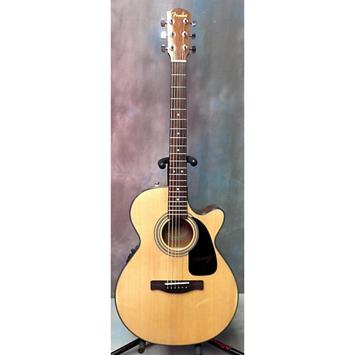 Fender GC140SCE Grand Concert Acoustic Electric Guitar-thumbnail