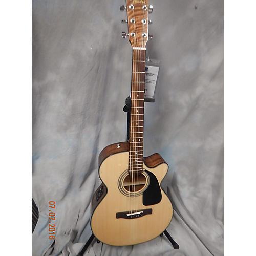 Fender GC140SCE Grand Concert Acoustic Electric Guitar-thumbnail