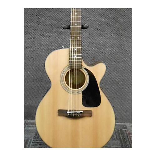 Fender GC140SCE Natural Acoustic Electric Guitar-thumbnail