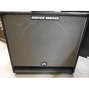 Pre-owned Genz Benz GC155T-UB Bass Cabinet by Genz Benz