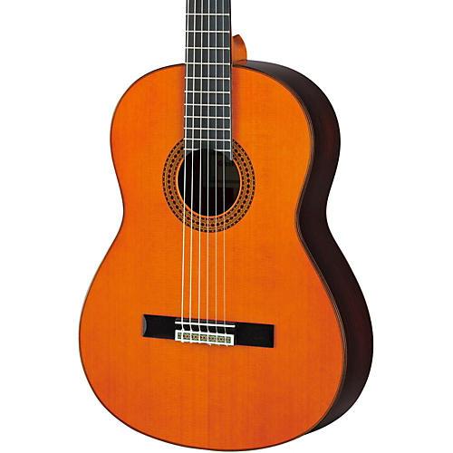 open box yamaha gc22 handcrafted classical guitar cedar guitar center. Black Bedroom Furniture Sets. Home Design Ideas