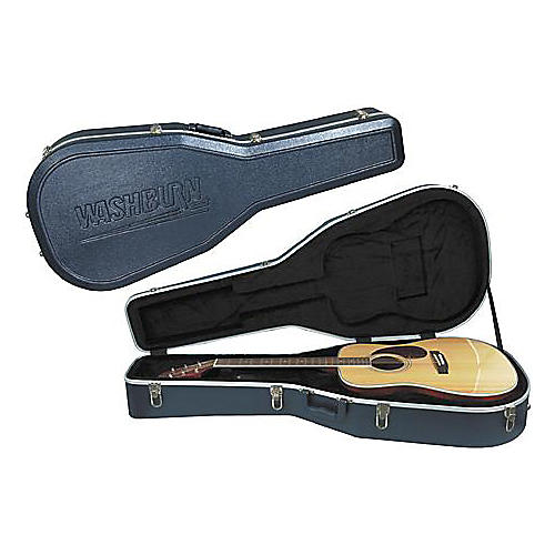 Washburn GC72 Molded Hardshell Acoustic Guitar Case-thumbnail