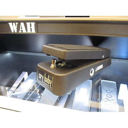 Dunlop GCB95F Crybaby Classic Wah With Fasel Inductor Black Effect Pedal