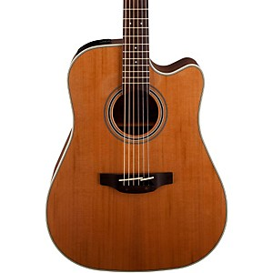 Takamine GD20CE-NS Dreadnought Cutaway Acoustic-Electric Guitar by Takamine