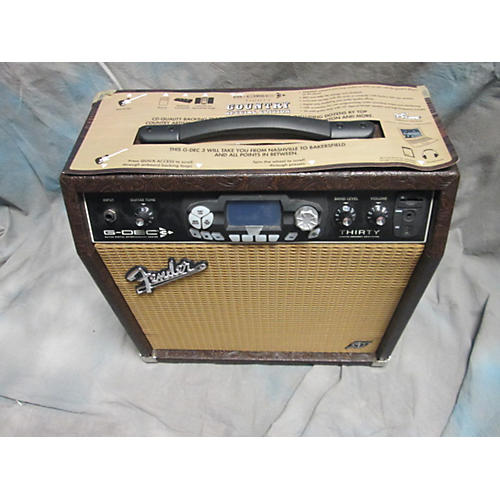 Fender GDEC 3 30 COUNTRY Guitar Combo Amp