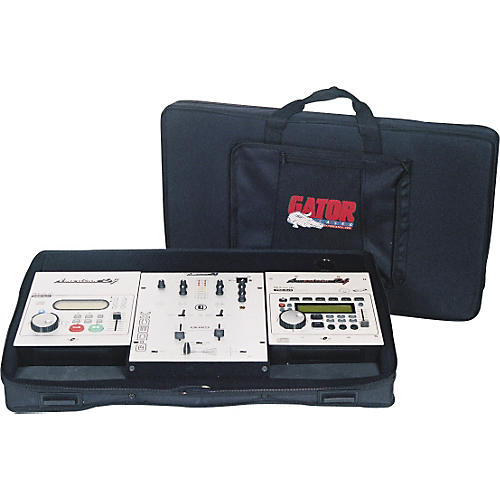 Gator GDJ-DJCASE Case for Two CD Players/10
