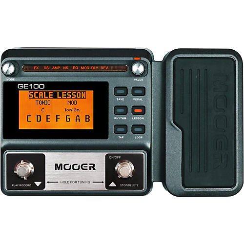 Mooer GE100 Guitar Multi-Effects Pedal-thumbnail