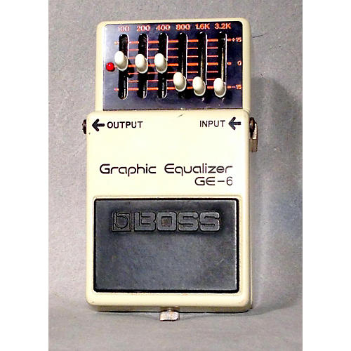 Boss GE6 Graphic Equalizer Pedal