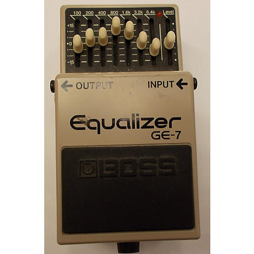 Boss GE7 Equalizer Gray Pedal