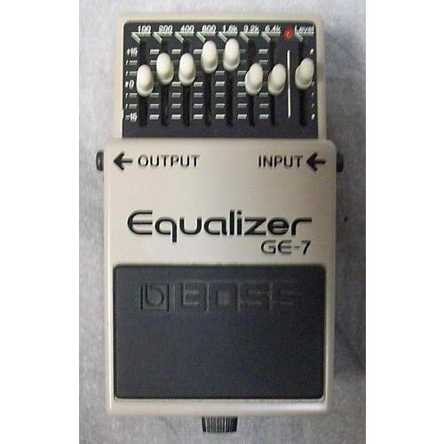 Boss GE7 Equalizer Pedal-thumbnail